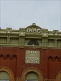 Image for 1896 - Bank of Stockton Block - Stockton, Illinois
