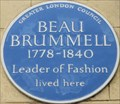 Image for Beau Brummell - Chesterfield Street, London, UK