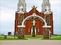 Image for Eglise Notre-Dame du Mont-Carmel Entrance Arch - PEI, Canada