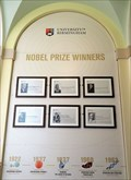 Image for University of Birmingham 'Nobel Wall of Honour'  1926 to 2016 - Edgbaston, Birmingham, U.K.