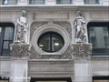 Image for Commerce and Industry Figures on Former International Trust Company Building - Boston, MA