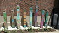 Image for St. Andrew School peace poles - Chicago, IL