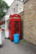 Image for Red Telephone Box - Canonbury Place, London, UK