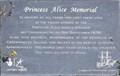 Image for Princess Alice Memorial - Stone Walk, Creekmouth, London, UK