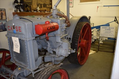 1926 case cross motor tractor scotland county museum for Scotland motors inc laurinburg nc