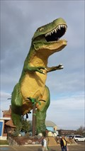 Image for World's Largest Dinosaur - Drumheller