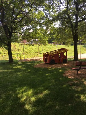A beautiful little park.