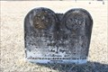 Image for OLDEST Marked Grave in Washburn Cemetery - Bells, TX