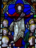 Image for Christ in Majesty - Church of the Holly Cross - Cowbridge, Vale of Glamorgan, Wales.[