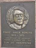 Image for Franz Xaver Remling - 200 Years - Hambach, Germany, RP