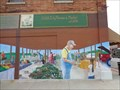 Image for Farmers Market Mural - Webb City, Missouri, USA.