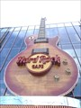 Image for Giant Guitar at the Hard Rock Cafe, Las vegas
