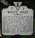 Image for White Post