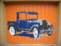 Image for Ford model A on a Garage door