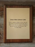 Image for The Orson Albert Johnson Cabin