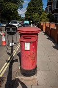 Image for Victorian Post Box - Fortune Green Road, London, UK