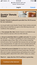 Image for Dunkin Donuts on Snell - Wifi Hotspot - San Jose, CA, USA