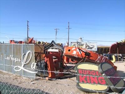 las vegas sign graveyard. Neon Boneyard - Las Vegas,