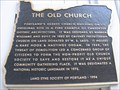 Image for FIRST - Portland's OLDEST church building on its ORIGINAL site: Calvary Presbyterian Church; Also known as Old Church, Portland, Oregon