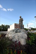 Image for Belgian WWI Memorial -- Boulevard Provencher, St Boniface MB