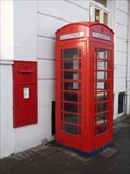 Image for Red Telephone Box - The Steyne, Worthing, West Sussex, England