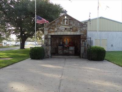 Guardian Angel Catholic Church Grotto - Wallis, TX - Outdoor