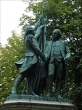 Image for George Washington and Marquis de Lafayette - Paris, France