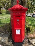 Image for Victorian Hexagonal Pillar Box - Water Street, Buxton, Derbyshire, UK