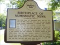 Image for BIRTHPLACE OF NUMISMATIC NEWS - Iola, WI USA