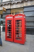 Image for Red Telephone Boxes - St Paul's Churchyard, London, UK