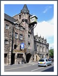 Image for Canongate town clock - Edingburg - Scotland - Uk