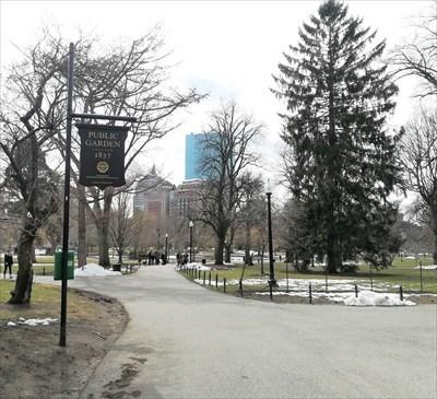- veritas vita visited Boston Massacre Site -