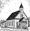 Image for Bonshaw United Church by Sterling Stratton - Bonshaw, PEI