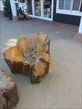 Image for Carved Bench -  Larkspur, CA