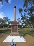 Image for ONLY - War Memorial of this design, Mitchell , Qld, Australia