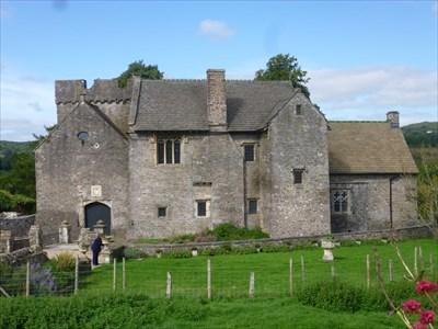 Penhow Castle - paranormal - Wales. Great Britain.
