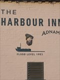 Image for Flood level - The Harbour Inn, Blackshore Quay, Southwold, Suffolk. IP18 6TA.