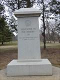 Image for Wacousta Veterans Memorial Wacousta Mi.
