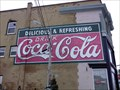 Image for Coke Sign side of building Windosr Nova Scotia