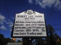 Image for Robert Lee Vann | A-85