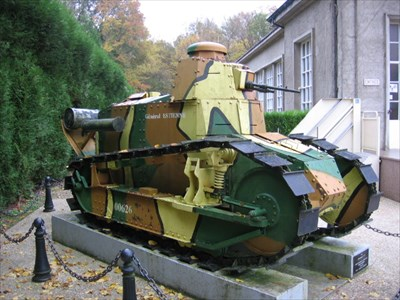 char renault ft 17 clairi re de l 39 armistice for t de compi gne france military ground. Black Bedroom Furniture Sets. Home Design Ideas