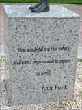 Image for Anne Frank - Anne Frank's Statue - Oranjestad, Aruba
