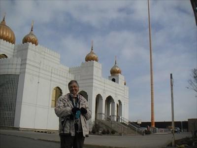 Une belle photo de moi et le temple prise par C_Rich.