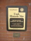 Image for Bertha Eccles Community Art Center - Ogden, Utah