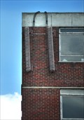 Image for Brick panels on an office block in Lincoln UK