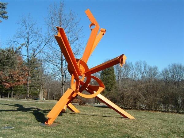 Mark di Suvero (美国1933-)雕塑作品集1 - 刘懿工作室 - 刘懿工作室 YI LIU STUDIO