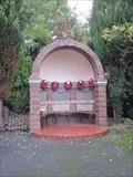 Image for Memorial Chair, Lower Garth, Trevor, Wrexham, Wales, UK