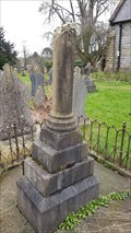 Image for Peveril William Brownson - St Peter's cemetery - Parwich, Derbyshire