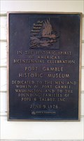 Image for Port Gamble Historical Museum Marker - Port Gamble, WA