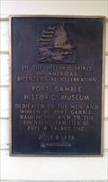 Image for Port Gamble Historical Museum Marker - Port Gamble, WA